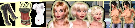 3d sexvilla models